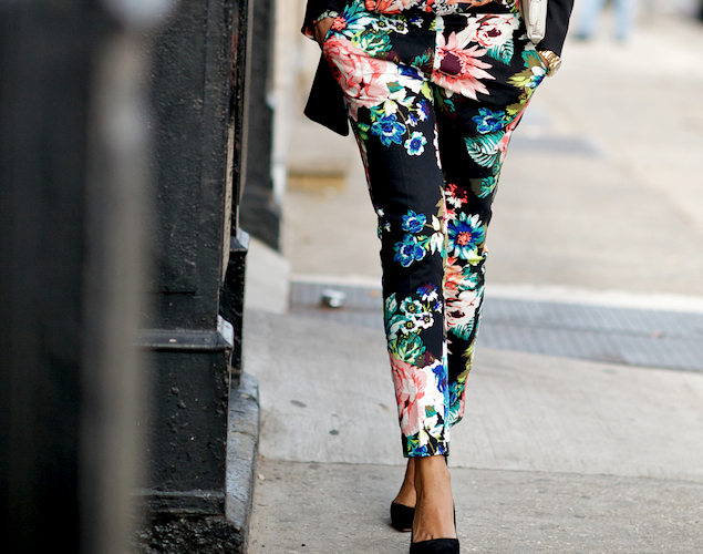 Floral Pants: Day to Night Savvy Looks
