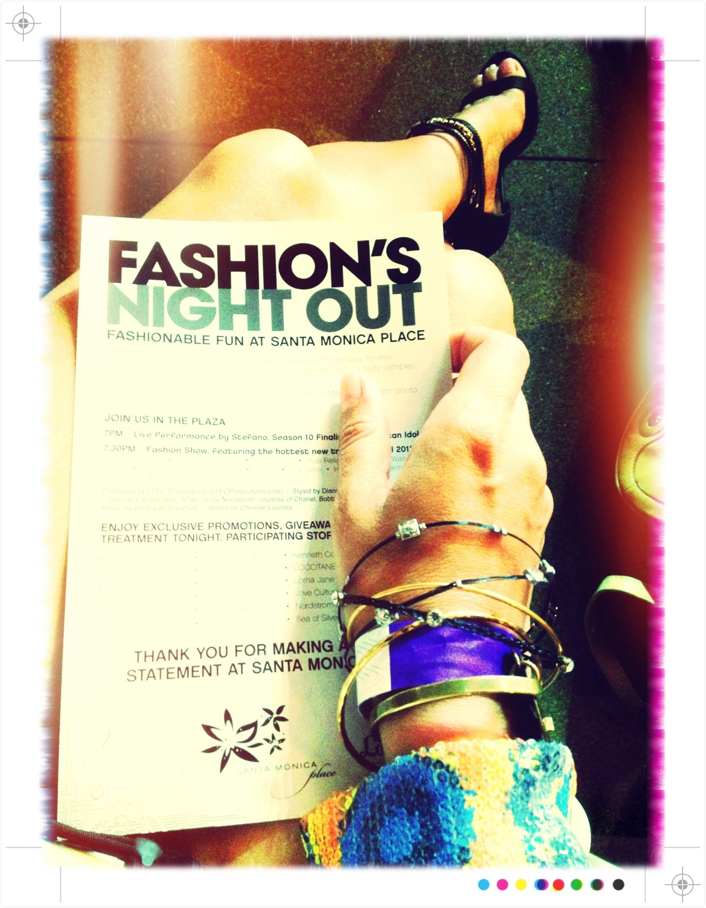 2012 Fashion's Night Out Santa Monica Style