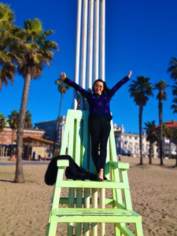maria von losch santa monica beach