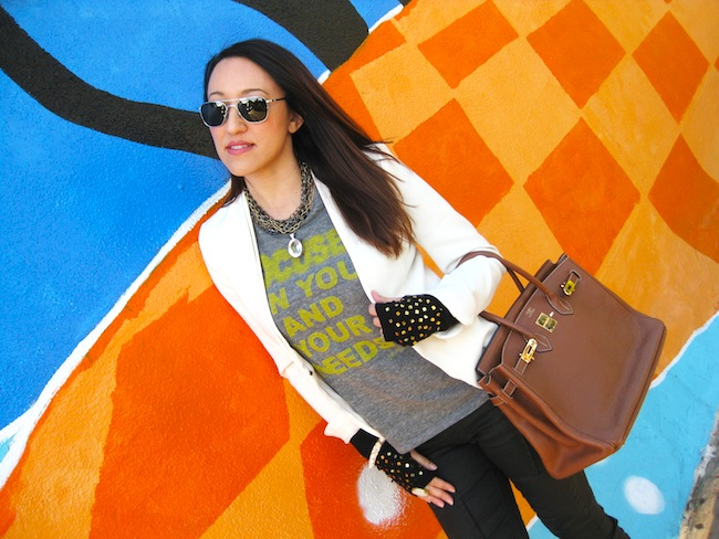 loveland focused tee safia necklace hermes birkin
