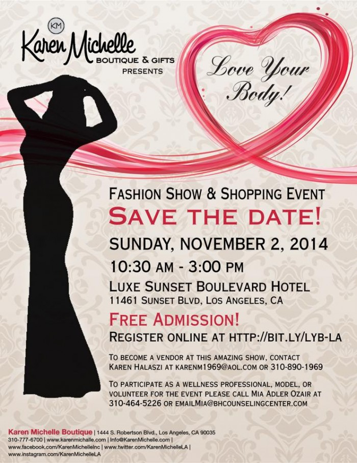 love your body fashion show event