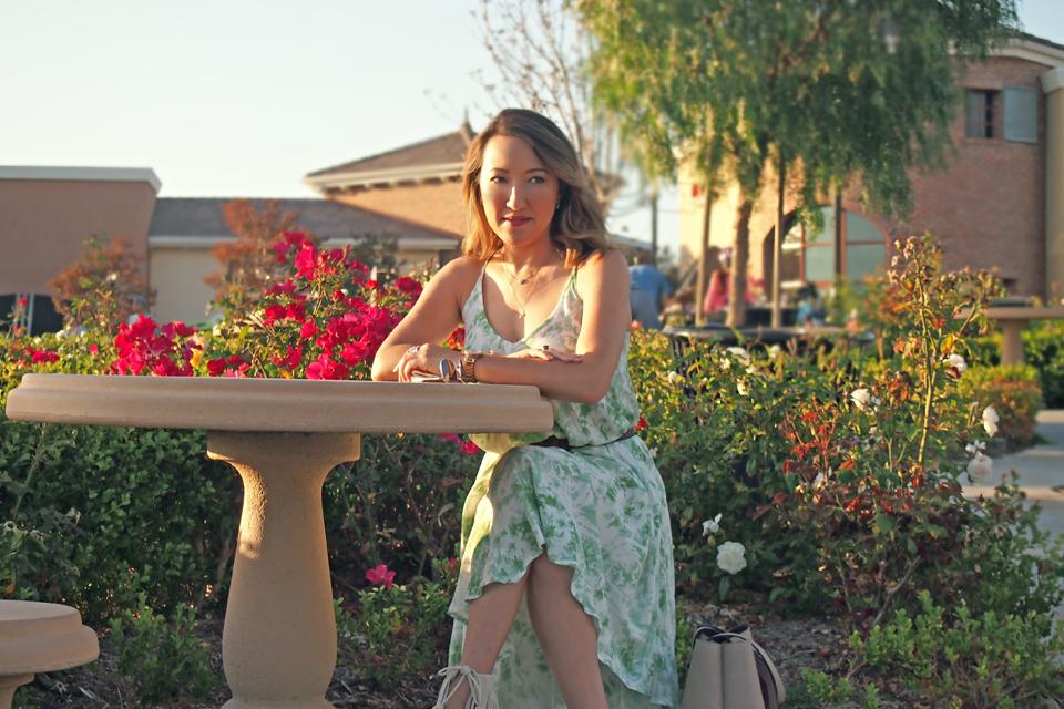 Summer Dress Styled 2 Ways