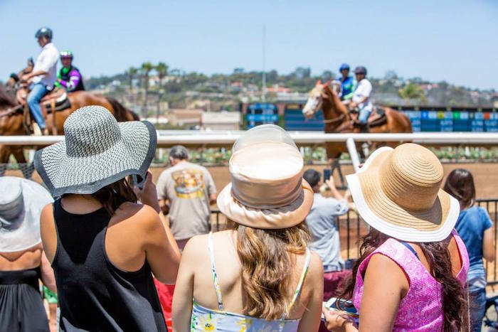 womens hats opening day 2015 del mar