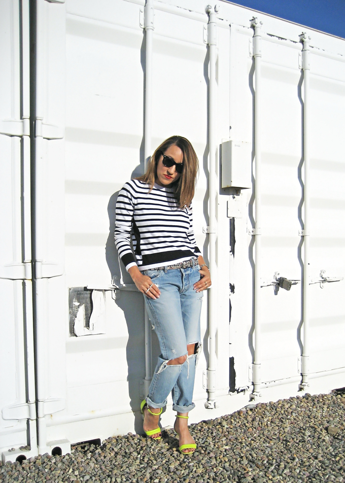 fall stripes and jeans savvynista