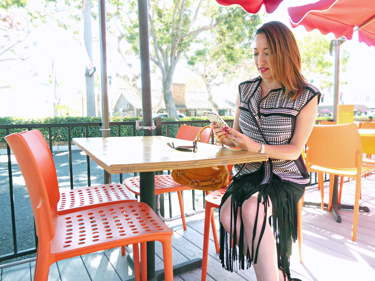 Fall Fringe and Embroidery
