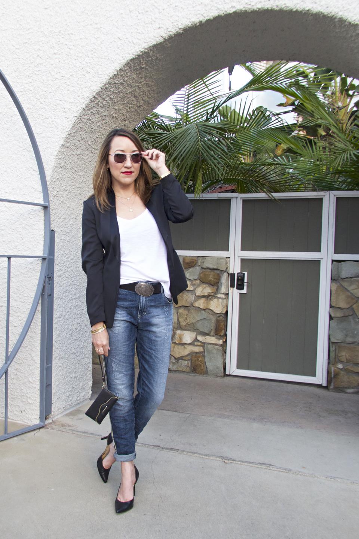 maryleg jeans tux blazer