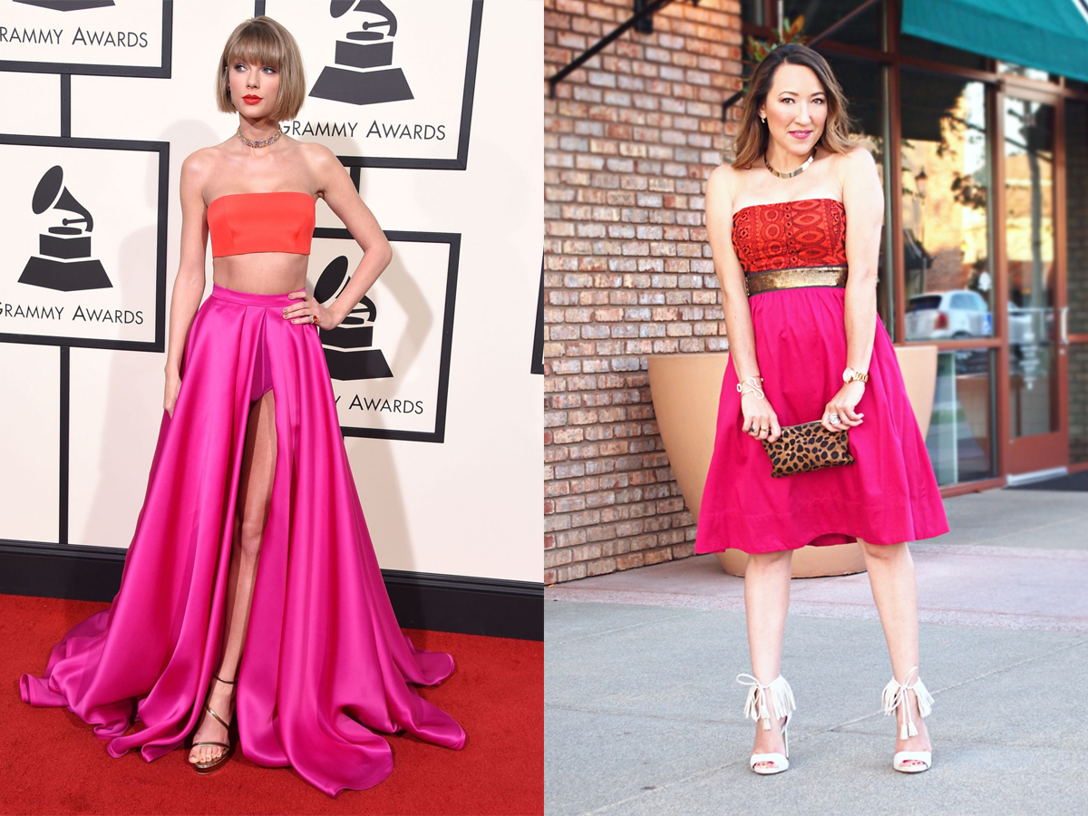 Taylor Swift's 2016 Grammy Red Carpet Look to #IRL