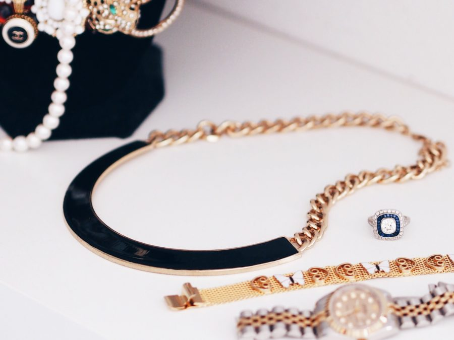 Vintage style jewelry rolex watch
