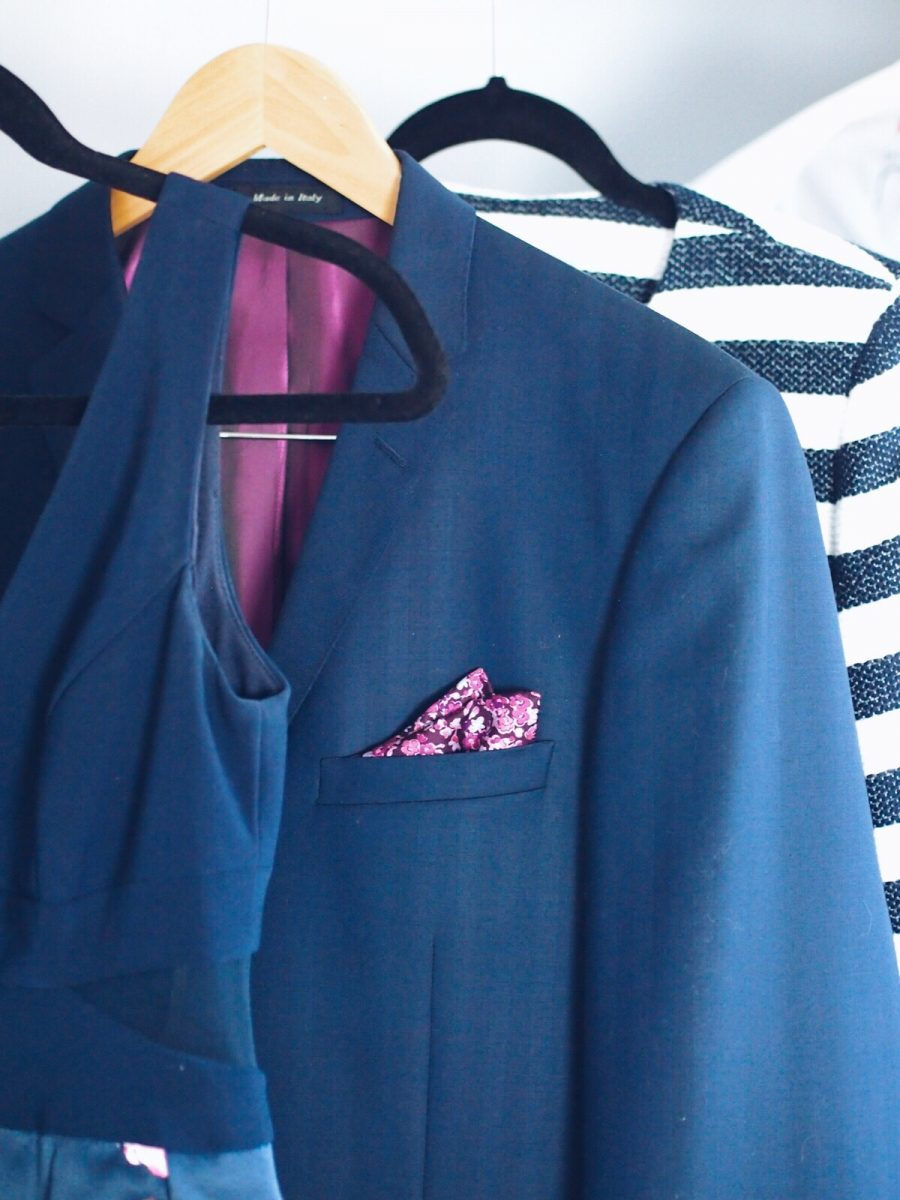 Printed pocket square mens fashion style