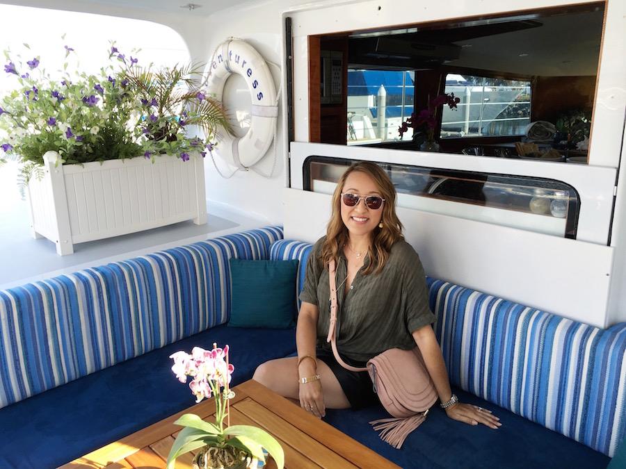 maria von losch savvynista boat ride SD