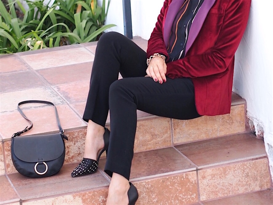 2 Ways to Wear Velvet Blazers