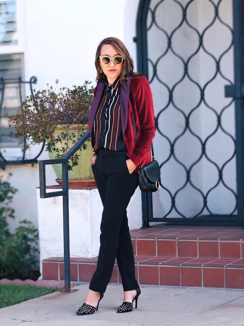 how-to-wear-velvet-tuxedo-blazer