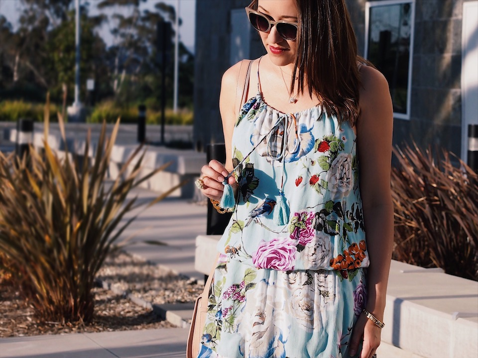 Spring Trend: Fun and Flirty Floral Dresses