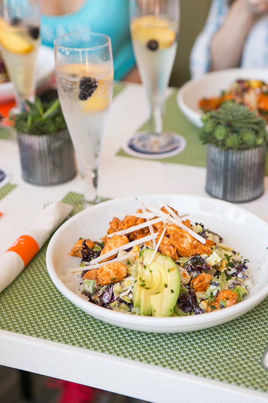 cafe vida bbq chix salad bay club
