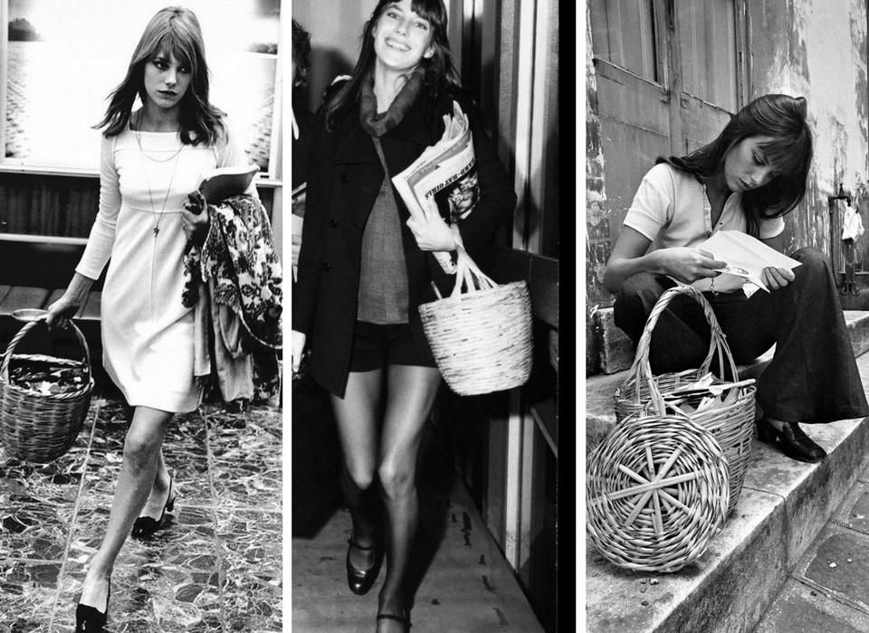 Jane Birkin iconic basket bag