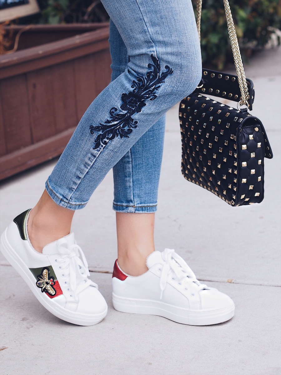 womens gucci sneaker dupes