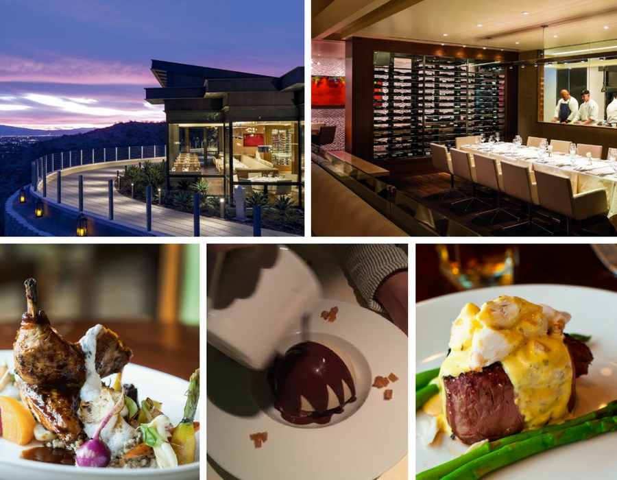 The Edge Steakhouse at Ritz Carlton Rancho Mirage