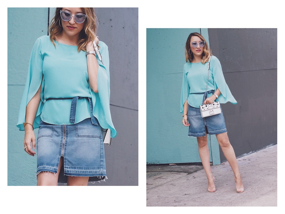 How to style short skirts via savvynista-2