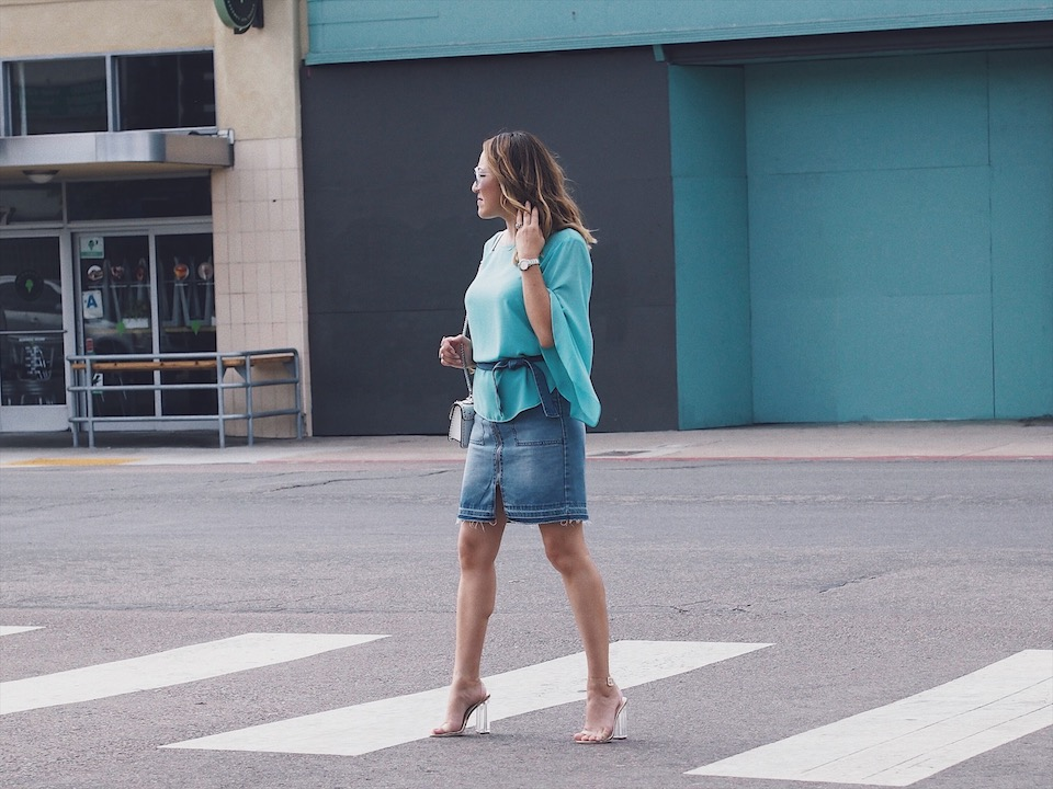 How to Style Short Skirts for Fall