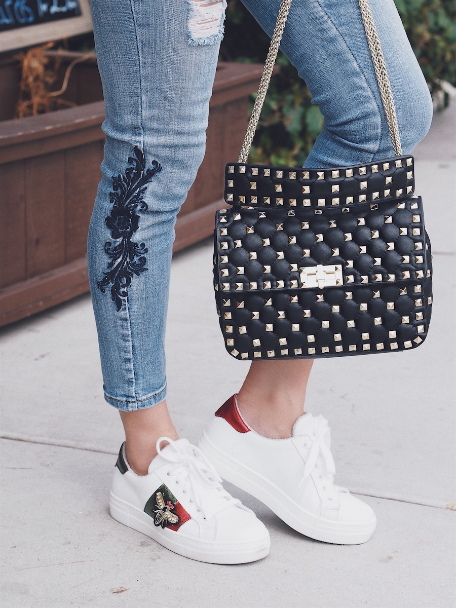 affordable studded bags