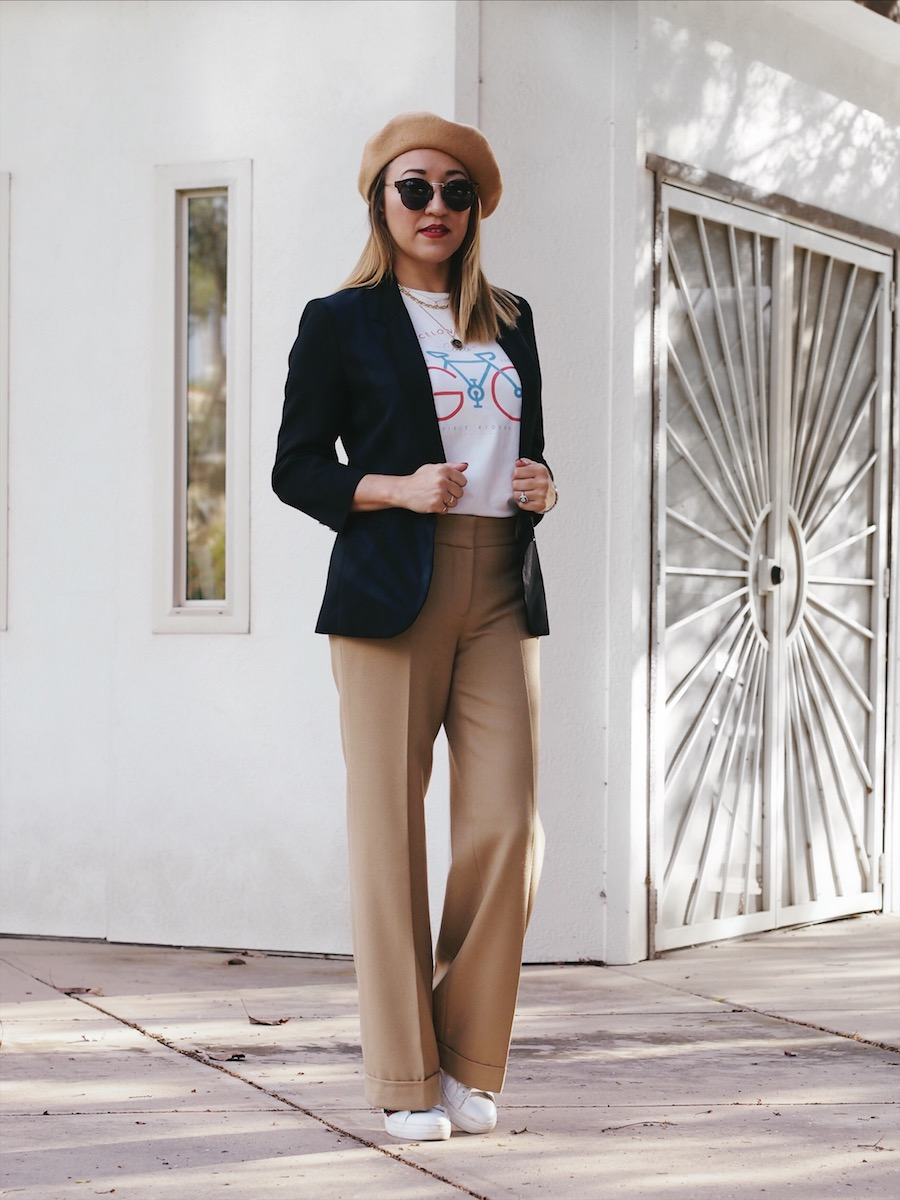 How to Style High Waisted Pants Casually