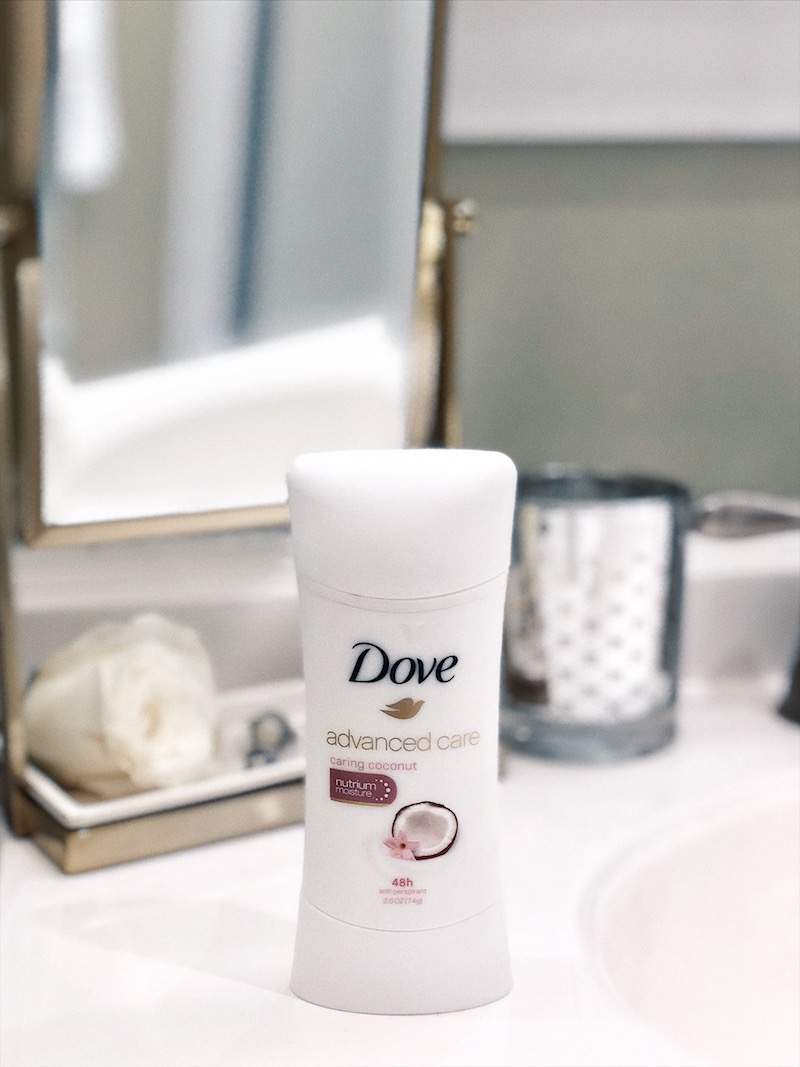 skin protection with Dove
